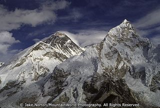 N-SIT-S-0041: Mount Everest (center) and Nuptse (right) from the summit of Kala Pattar, Khumbu Valley, Nepal.