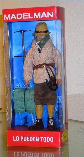 Andrew Irvine action figure