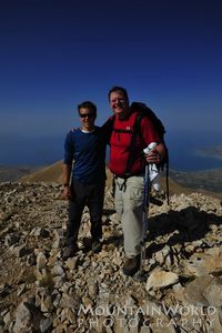 Art & Jake on the summit of Artos