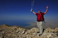 Art Adams on the summit of Artos