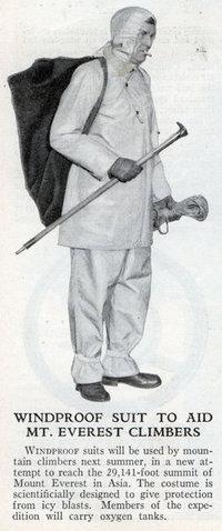 1933 Everest Wind Suit